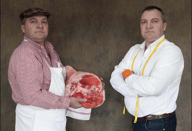 Laurent Lamorlette, artisan boucher charcutier de chez PACAA Panier, Pole Alpin des Compétences Artisanales et Agricoles